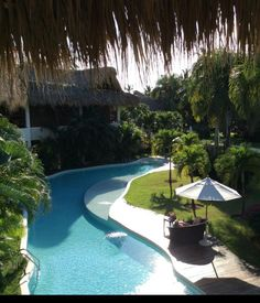 Thanks to guest Janice C. for sharing this great photo of a view from her balcony at Zoetry Agua Punta Cana!