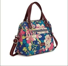Convertible Sakroots Handbag with Zipper: