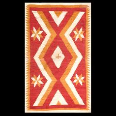 #antique #Navajo #rug.Stock Id: #20582 General Rug Type:      American Specific Rug Type:      Navajo Circa: 1880 Color: Red Origin: USA Width: 3' 4'' ( 101.6 cm ) Length: 5' 8'' ( 172.7 cm )
