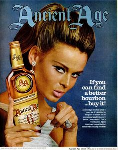 Inch Print - High quality prints (other products available) - ANCIENT AGE AD, <br>American advertisement for Ancient Age Kentucky Bourbon, - Image supplied by Granger Art on Demand - Photograph printed in the USA Retro Ads, Vintage Advertisements, Vintage Ads, Ancient Age Bourbon, Vodka, Best Bourbons, Bourbon Cocktails, Spiritus, Poster Size Prints