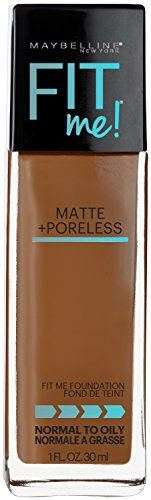 Maybelline New York Fit Me Matte Plus Poreless Foundation, Cappuccino, 1 Fluid Ounce Maybeline New York http://www.amazon.com/dp/B0169YYCP4/ref=cm_sw_r_pi_dp_EHoLwb1SPFD95