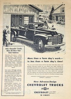 Chevrolet Truck Ad