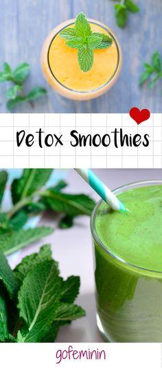 Im neuen Jahr ist es höchste Zeit euren Körper zu reinigen und ihm einem Frühjahrsputz zu unterziehen. Mit unseren genialen Rezepten trinkt ihr euch fit und gesund!