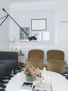 Hanna Westman inreder ett vardagsrum på Äntligen hemma.