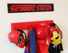 Toy Room Vinyl Superheroes & Princesses by naylonee on Etsy, $12.00