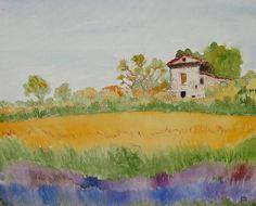 """Lavendelfelder in der Provence"""