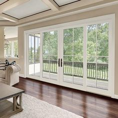 Integrity from Marvin® Windows and Doors is pleased to announce the upcoming release of Wood-Ultrex Four Panel Sliding French Doors! Sliding French Doors, French Doors Patio, Exterior French Doors, Double Sliding Glass Doors, Exterior Patio Doors, Double French Doors, Bifold Exterior Doors, Double Patio Doors, Aluminium French Doors