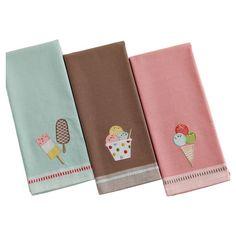 Ice Cream Dishtowels.