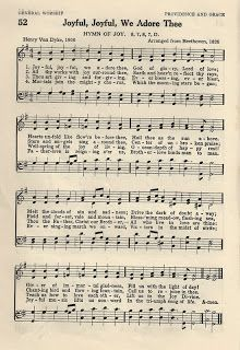 Little Birdie Blessings : Hymn ~ Joyful Joyful We Adore Thee