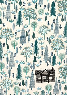 zannagoldhawk: Sorry I haven't posted anything in AGES guys! I've been super busy over Christmas, and now I'm flooded with uni work. I've still been finding the time to check out all the awesome stuff you're posting though! Woah! Anyway, here is a nice little cabin in the woods - I'd quite like to be there now, instead of doing my Uni work. You can buy it as a print here!