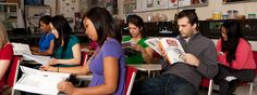 The Teacher Education program is organized into four phases: Pre-Teaching, Intro Teaching, Student Teaching 1, and Student Teaching 2.