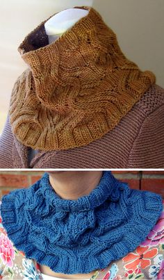 Free Knitting Pattern for Serpentine Cowl - This cowl features a special stitch pattern that creates winding texture with increases and decreases. Designed by Angela Hahn. Pictured project by Baby Knitting Patterns, Knitting Designs, Free Knitting, Knitting Projects, Finger Knitting, Scarf Patterns, Knitting Machine, Knit Or Crochet, Crochet Shawl