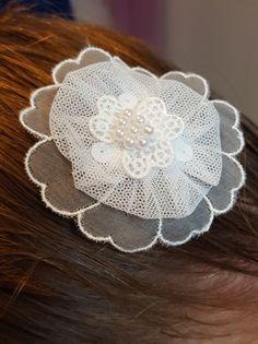 DIY Hochzeits-Haarschmuck