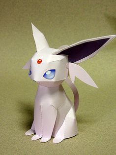 Espeon - one page, no English instructions. Papercraft Pokemon, Pokemon Craft, Pokemon Party, Pokemon Eevee Evolutions, Diy And Crafts, Paper Crafts, Dibujos Cute, Modelos 3d, Pokemon Pictures