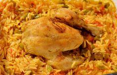 FIRINDA ARPA ŞEHRİYELİ TAVUK (kurczak w ryżu z warzywami) http://tureckieprzepisy.blogspot.com/2013/02/firinda-arpa-sehriyeli-tavuk-kurczak-w.html