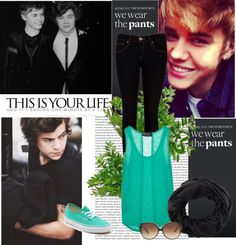"""""""Harry and Justin"""" by mariinabelieve on Polyvore"""