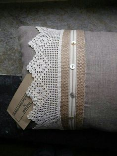 Image result for kussings van burlap