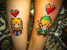 Couple tattoo.