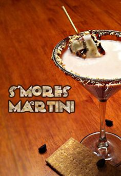 S'mores Martini Recipe | Host The Toast Blog