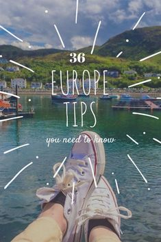 Everything you need to know: our top tips for travelling in Europe. #traveltips