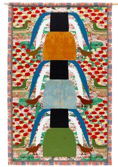 EN KOBENHAGEN/UN COPENHAGUE by Maj Persdatter.  The oriental carpet revisited.  Now in espacioBRUT Art And Architecture, Graphic Prints, All Art, Unique Art, Art Inspo, Whimsical, Oriental, Illustration Art, Carpet