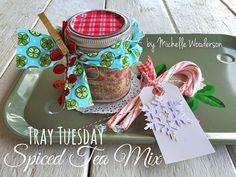 Tray Tuesday.....Spiced Tea Mix