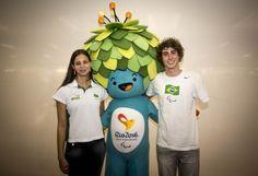 Primeiro dia das Paralimpíadas Escolares 2014 tem presença do mascote dos Jogos Paralímpicos do Rio | Portal PcD On-Line