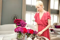 Designer dish: Erin Fetherston makes a perfect brunch. Photos by Mark Iantosca.