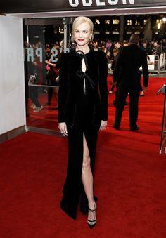 Nicole Kidman ousa com fenda em festival de cinema