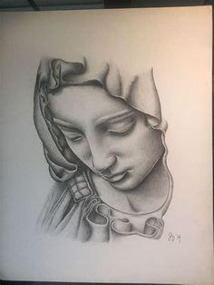 Chicano Tattoos, Body Art Tattoos, Sleeve Tattoos, Tattoos Skull, Stencils Tatuagem, Tattoo Stencils, Angel Tattoo Designs, Tattoo Designs Men, Tattoo Crane