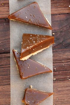 Salted Caramel Bar-Oh, my!  Shortbread and salted caramel.  It has all the great stuff.