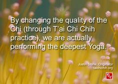 Quote by Justin Stone, Originator of the moving meditation T'ai Chi Chih: Find more info at www.taichichih.org Justin Stone, Stone Quotes, Chi Energy, Healing Meditation, True Nature, Qigong, Fb Page, Yoga, Inspiration