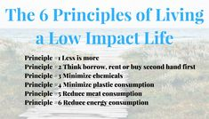 The building blocks of living a Low Impact Life First Principle, Less Is More, The Borrowers, Building, Life, Buildings, Construction