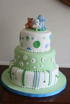 Boy Baby Shower cake by davidandkate95