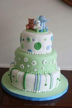 Boy Baby Shower cake by davidandkate95