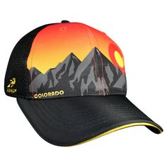 86f7db0904699 Headsweats - Trucker Hat Colorado Sunset