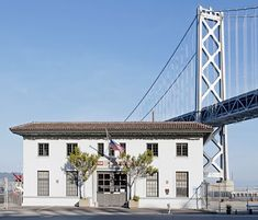 San Francisco Landmark #225, Engine Company No. 9 and Fireboat Company No. 1, Embarcadero At Harrison (Pier 22½), Built 1915