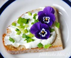 kwiatowe kanapki