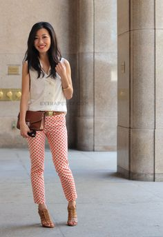how to wear capri pants as short height girl (11)