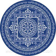 Mandalas Medicine Buddha