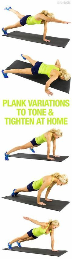 These are the perfect moves to tone that tummy!