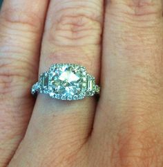 My engagement ring.. Sylvie Collection