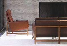 BassamFellows: CB-510 High Back Lounge Chair
