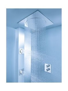 Create this Rain Shower Ideas for your bathroom. Tag: rain shower ideas bathroom tile, rain shower baby shower theme, rain shower head with handheld, rain shower head ceiling dream bathrooms Next Bathroom, Modern Bathroom, Small Bathroom, Rain Shower Bathroom, Bathroom Trends, Shower Baby, Dream Shower, Dream Bathrooms, Bathroom Interior Design