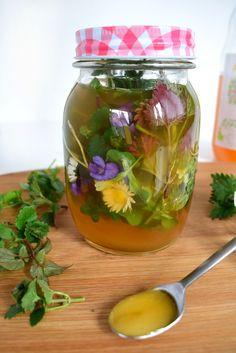 Vielfältige Rezepte mit Kräuter und Heilpflanzen werden wöchentlich auf meinem Blog veröffentlicht Cocktail Fruit, Yams, Herbal Medicine, Frugal, Cucumber, Herbalism, Detox, Diy And Crafts, The Cure