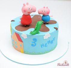 Peppa Wutz Torte Peppa Pig cake