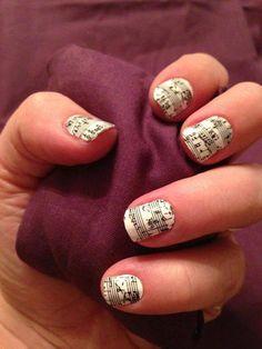 jamberry nails sheet music!