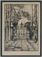 Sword gates, Charleston by Elizabeth ONeill Verner