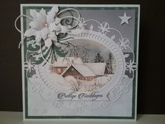 Cardmaking, Card Ideas, Christmas Cards, Winter, Xmas, Xmas Greeting Cards, Xmas Cards, Christmas Letters, Christmas Card Sayings