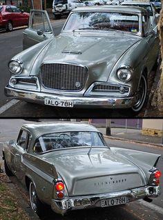 AutoManiac 1959 Studebaker Silver Hawk